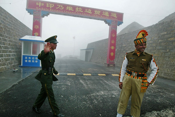 'We have right to develop areas along China border'