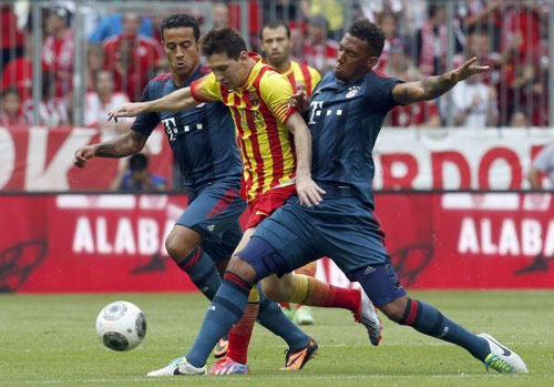 Guardiolas Bayern beats Barcelona in friendly