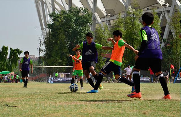 Using sports as a tool for social and individual development