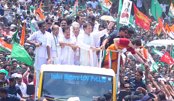 Rahul wins Wayanad with record margin