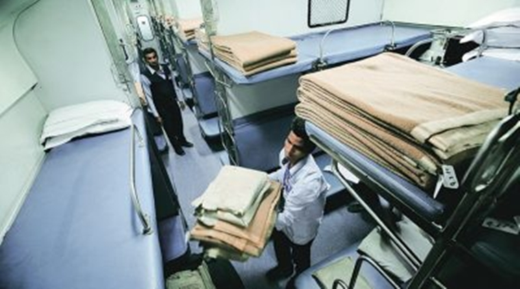 Lakhs of towels, bedhseets missing from AC coaches - passengers are suspects