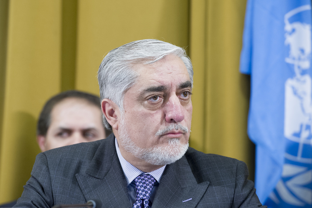 Abdullah claims victory over Ghani in Afghan vote well ahead of results