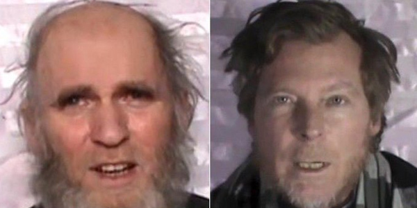 Taliban release two Western hostages in Afghanistan