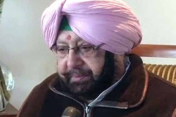 Punjab CM seeks PM Modis help to curb drug menace
