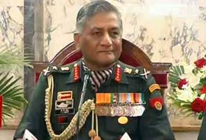 Army Chief says,no misunderstanding with MoD