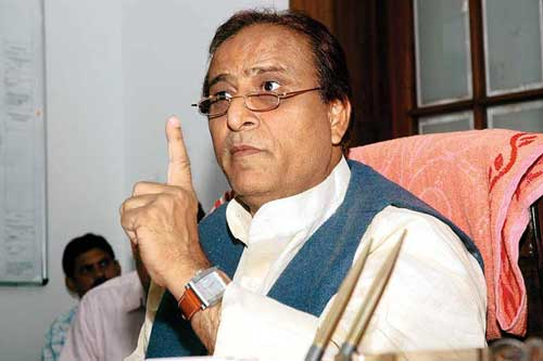 Minister booked for calling Azam Khan terrorist