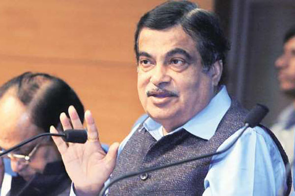 Gadkari takes charge of Ministry of Road Transport and Highways.