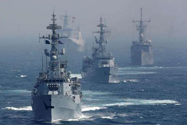 Three naval warships to be first responders to Fani