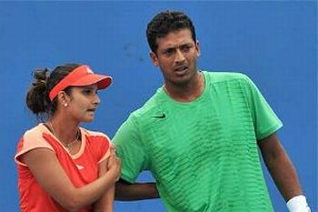 Bhupathi, Sania out of Australian Open mixed doubles