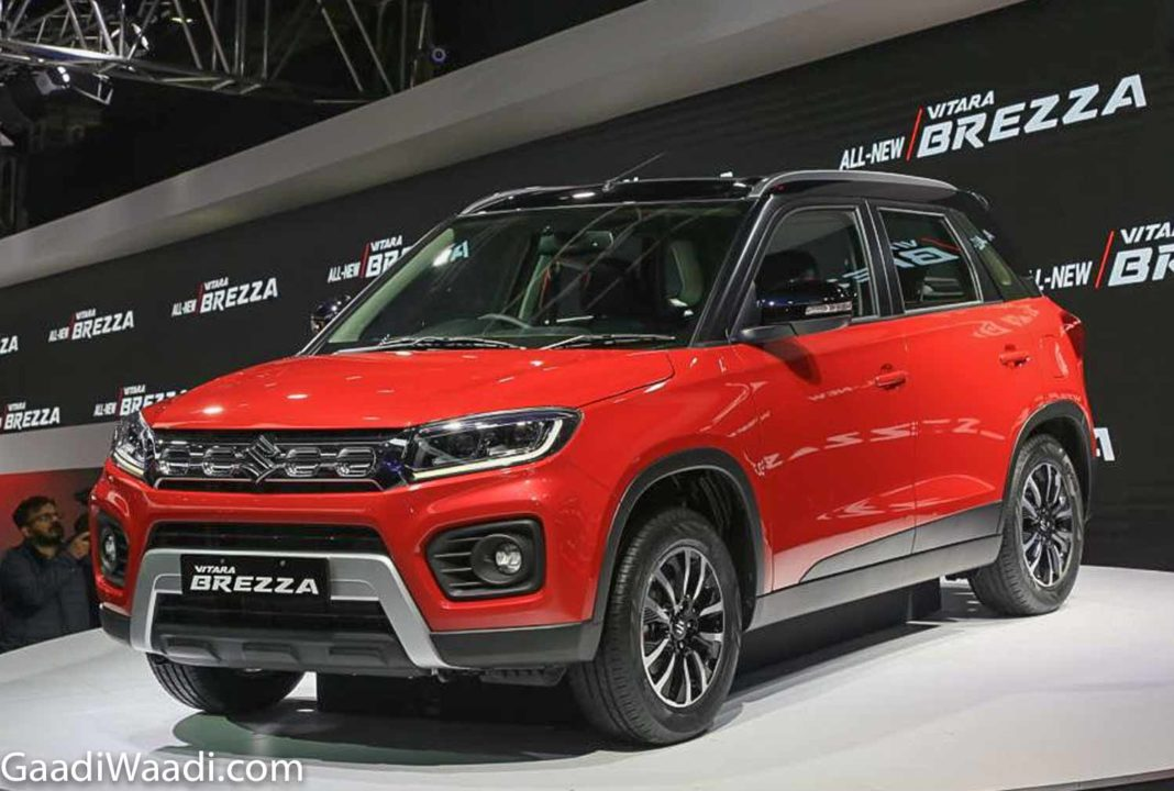 Maruti Suzuki launches all new Vitara Brezza