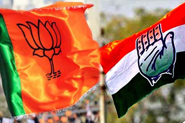 Congress, BJP launch campaign themes for LS polls