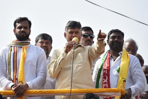 Chandrababu Naidu unhappy over non-functioning of EVMs