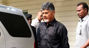 Andhra CM wears black shirt to protest against Centre
