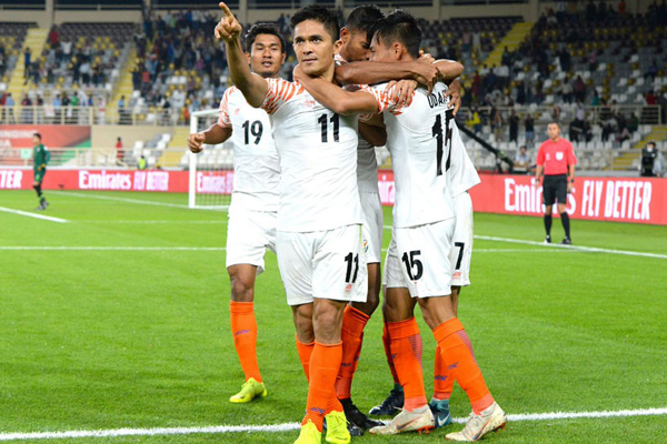 Asian Cup: Chhetri praises teammates after opening win