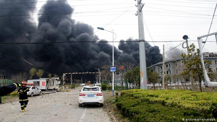 Six more detained over China blast that killed 78