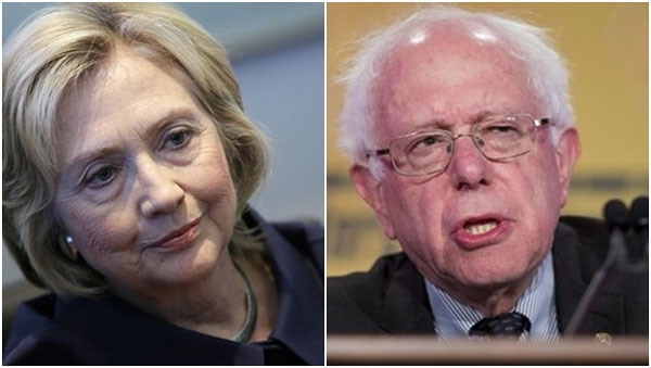 Cracks emerge in Democratic Party as Sanders turns up heat on Clinton