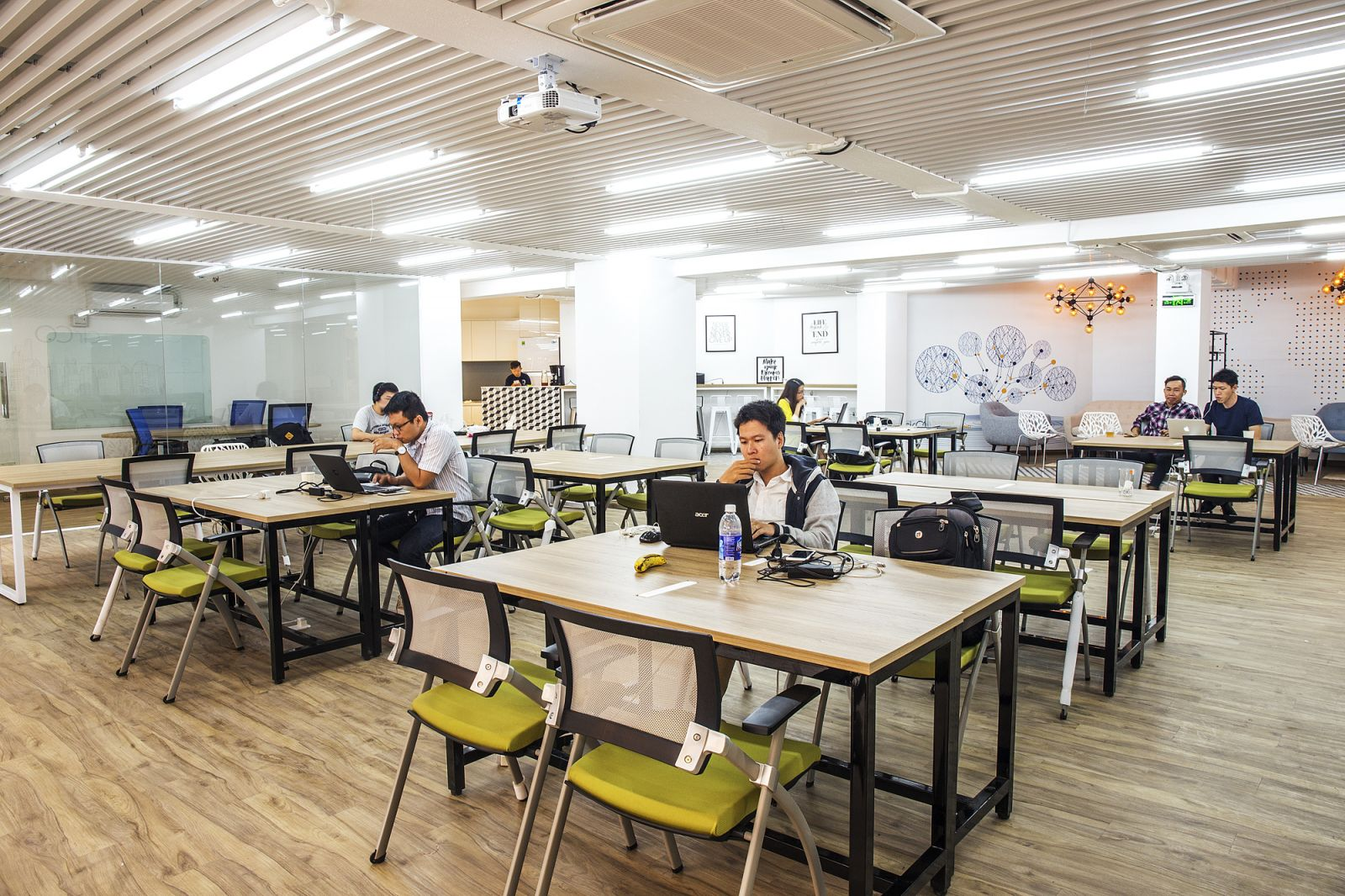 Co-working spaces evolve into community-building centres