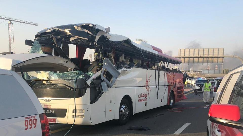 Process on to repatriate bodies of 12 Indian bus accident victims in Dubai