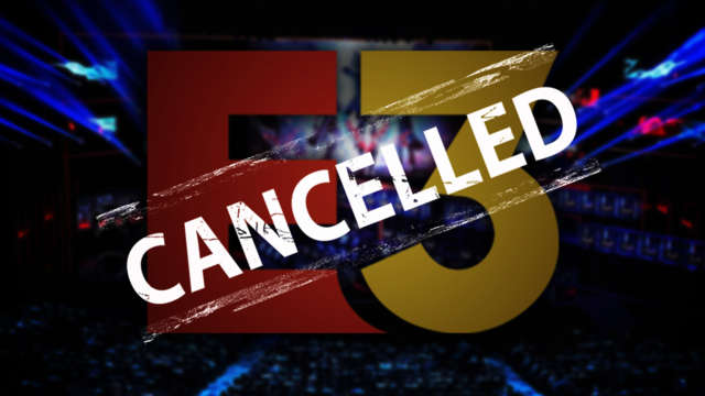 E3 2020 cancelled over coronavirus concerns