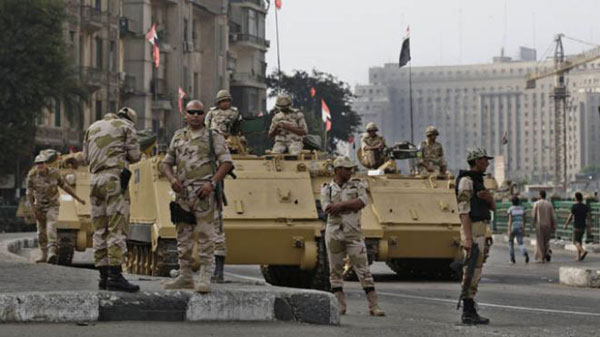 38 militants killed in Egypt