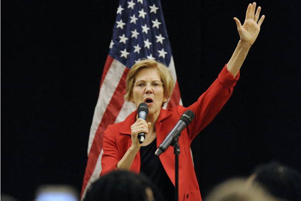 Democrat Elizabeth Warren to seek US presidency in 2020