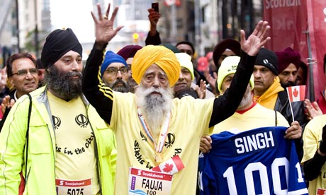 Fauja Singh calls it a day-only for full marathons!