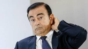 Security camera shows Ghosn leaving Tokyo home alone