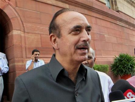 Ghulam Nabi Azad made Leader of Congress in RS, set to become Leader of Opposition