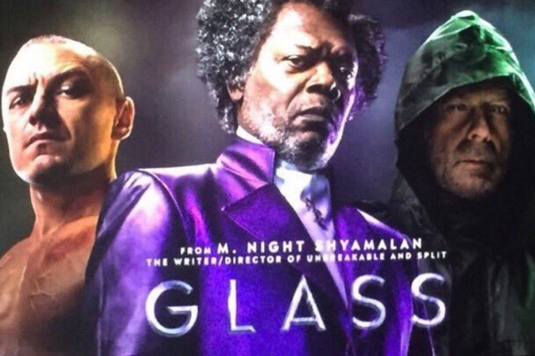 Glass: Contrived and lacklustre