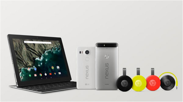Google takes on rivals with devices and OS launch