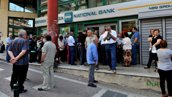 Greek banks re-open after three weeks
