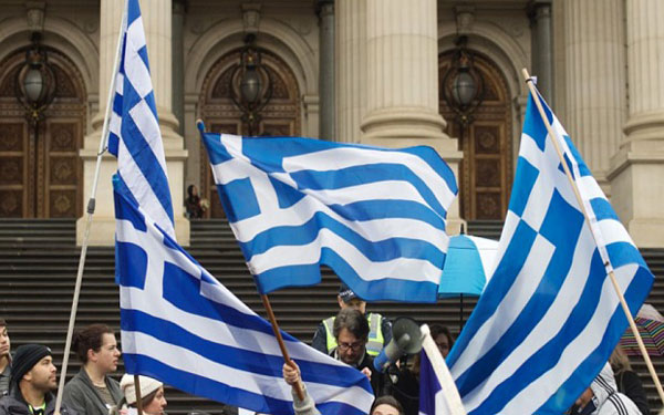 Respects NO vote by Greek: EU