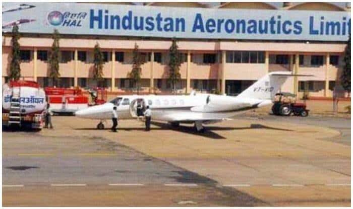 HAL workers begin indefinite strike