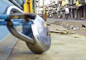 Traders across the state down shutters in protest