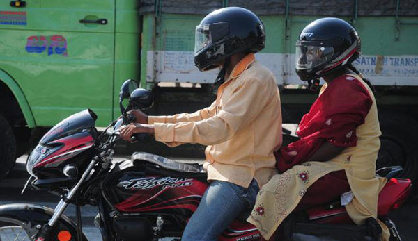 HC refuses to stay order on helmet for pillion riders