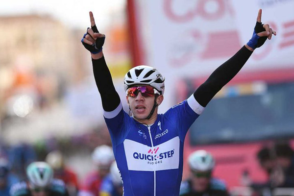 Hodeg wins third stage of Tour of Poland