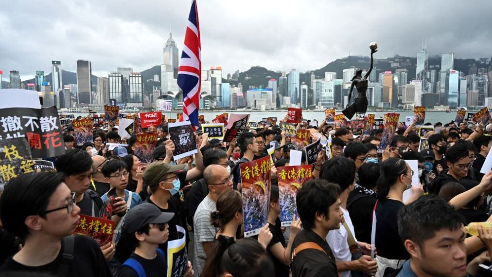 Food deliveries increase in HK due to protests