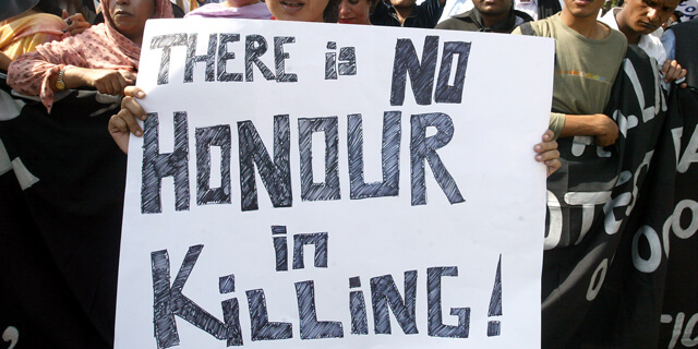 Honour Killing Again