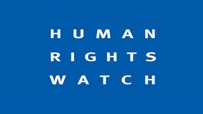 HRW warns against mass transfer of IS suspects to Iraq
