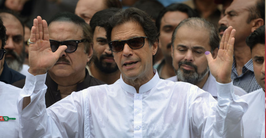 Imran slams opposition for promoting dynasties