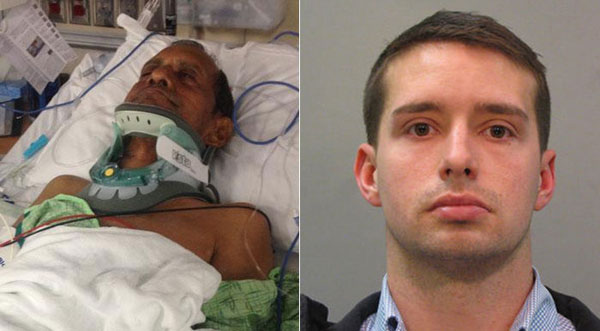 US officer who assaulted Indian man arrested; FBI to probe incident