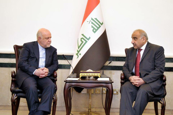Iraq, Iran to boost cooperation in oil, energy sectors