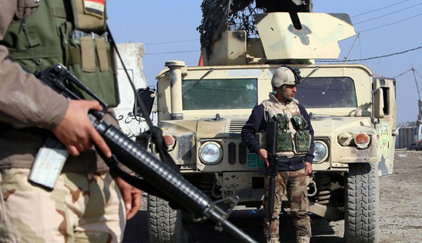 Iraqi forces break through into IS stronghold of Fallujah