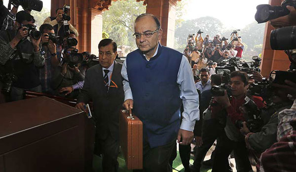 Jaitley proposes corporate tax, customs duty cuts, service tax hike