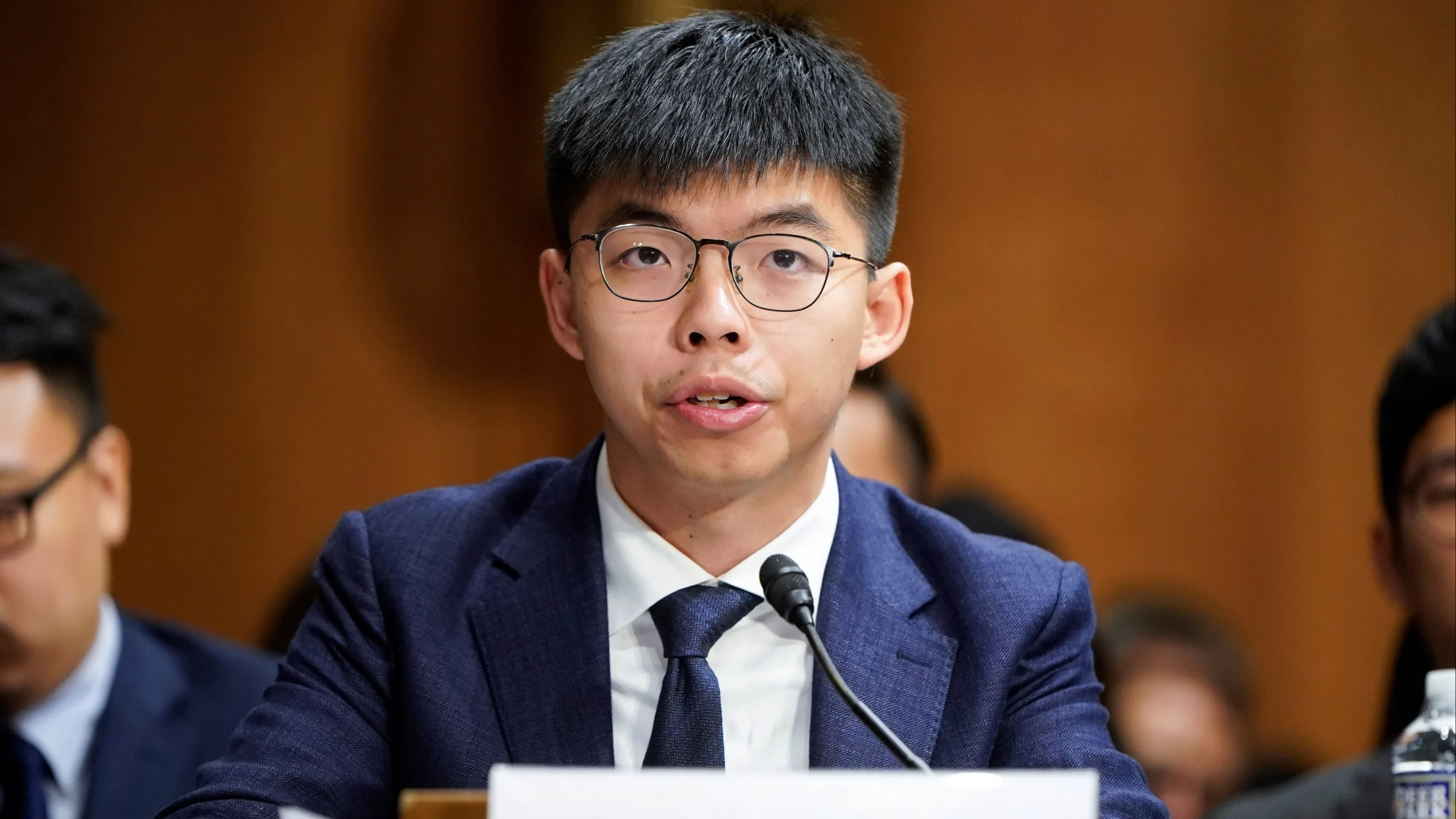 Hong Kong bars democracy activist Joshua Wong from local election