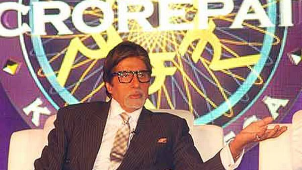 Big B completes 14 years with KBC
