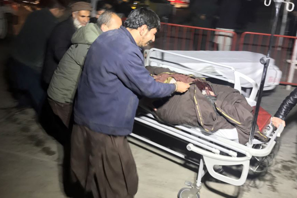 4 killed, 90 injured in Kabul blast