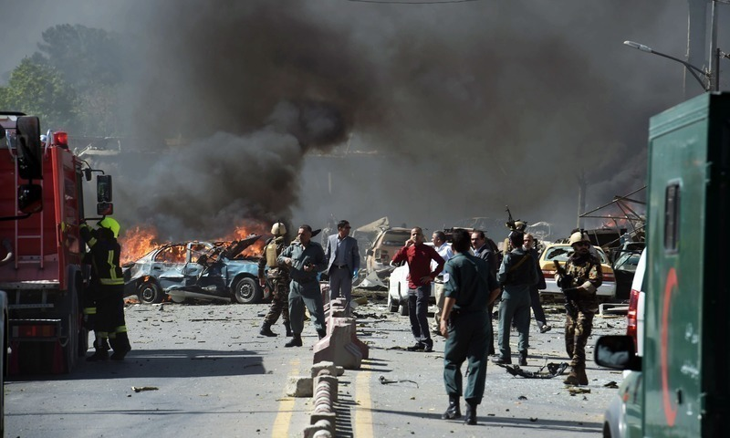 Islamic State group claims Kabul attack on Shiite shrine
