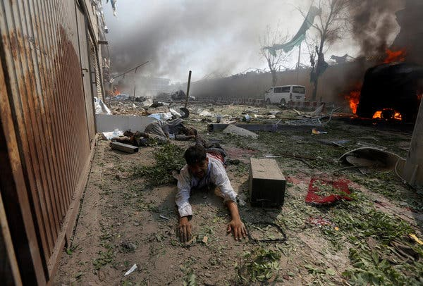 Seven Afghan soldiers killed in military camp attack