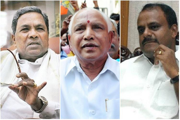 Karnataka: BJP leads in 21, Congress 2, JD-S 2